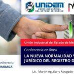 (Evento Grabado) Conferencia empresarial en línea: LA NUEVA NORMALIDAD Y EL MARCO JURÍDICO DEL REGISTRO DE ASISTENCIA.