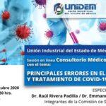 Consultorio Médico Empresarial: PRINCIPALES ERRORES EN EL DIAGNÓSTICO Y TRATAMIENTO DE COVID-19.