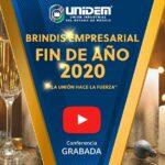 (Evento Grabado) Sesión en línea vía Zoom: 🎉UNIDEM – BRINDIS EMPRESARIAL DE FIN DE AÑO 2020