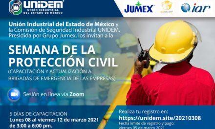 SEMANA DE LA PROTECCIÓN CIVIL (Capacitación y actualización a brigadas de emergencia de las empresas)
