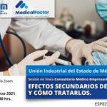 Conferencia Empresarial en línea:  EFECTOS SECUNDARIOS DE LA VACUNA Y CÓMO TRATARLOS.