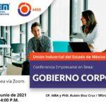 Conferencia Empresarial en línea: 👉 GOBIERNO CORPORATIVO.