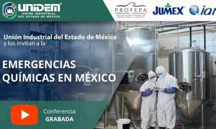 (Evento Grabado) Conferencia en línea: EMERGENCIAS QUÍMICAS EN MÉXICO