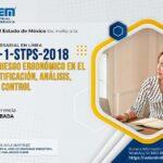 (Evento Grabado) Conferencia Empresarial en línea: NOM-036-1-STPS-2018 / FACTORES DE RIESGO ERGONÓMICO EN EL TRABAJO-IDENTIFICACIÓN, ANÁLISIS, PREVENCIÓN Y CONTROL